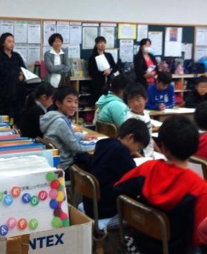 貞元小学校の授業参観