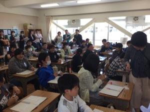 4/28 授業参観見学(貞元小)